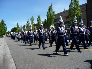 Glacier Peak's marching band