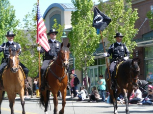 Seattle Police Mounted Patrol Unit