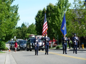 McChord Air Force Honor Color Guard