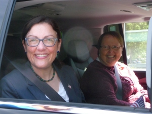 Rep. Suzan DelBene (D-WA) and Mill Creek's Mayor Pam Pruitt