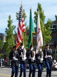 University of Washington's Army ROTC Color Guard