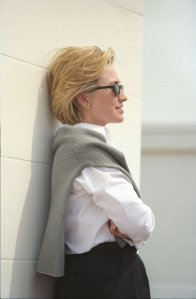 """I've been called many things by many people. 'Quitter' is not one of them."" - Hillary Rodham Clinton"