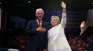 Bill and Hillary Clinton, 6/7/16