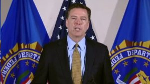 FBI director Jim Comey