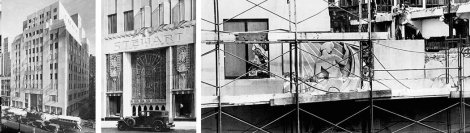 Bonwit Teller in New York City was torn down to build Trump Tower.  Photo credit:  New York Times