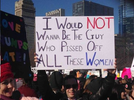 My absolute favorite protest sign.