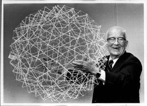 Buckminster Fuller is best known for the geodesic dome.